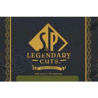 2011 Upper Deck SP Legendary Cuts Baseball Hobby Box