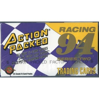 1994 Pinnacle Action Packed Series 2 Racing Hobby Box