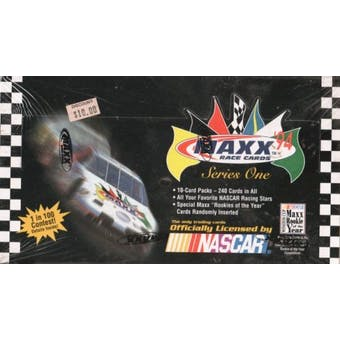 1994 J.R. Maxx Inc. Maxx Series 1 Racing Hobby Box