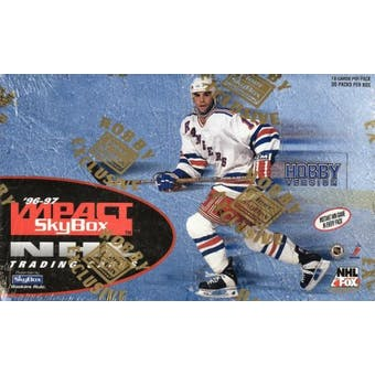 1996/97 Skybox Impact Hockey Hobby Box