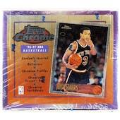 1996/97 Topps Chrome Basketball Hobby Box