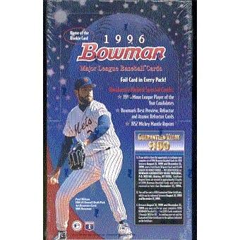 1996 Bowman Baseball Hobby Box