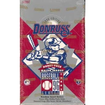 1996 Donruss Series 1 Baseball Hobby Box