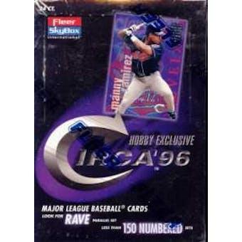 1996 Fleer Circa Baseball Hobby Box