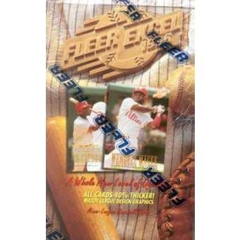 1996 Fleer Excel Baseball Hobby Box