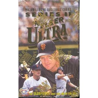 1996 Fleer Ultra Series 2 Baseball Hobby Box
