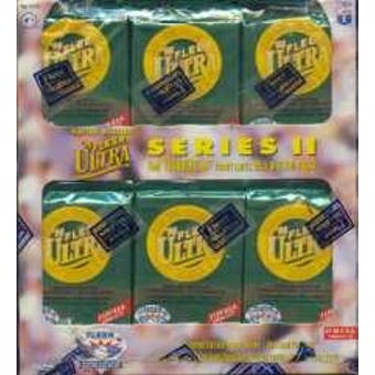 1996 Fleer Ultra Series 2 Baseball Retail Box