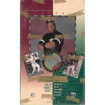 1996 Leaf Baseball 36 Pack Box