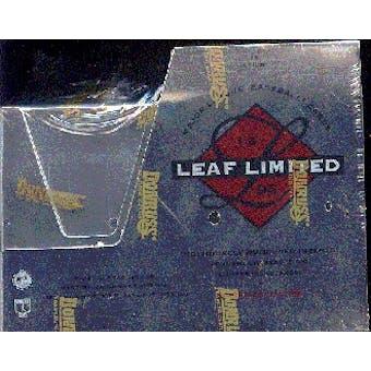 1996 Leaf Limited Baseball Hobby Box