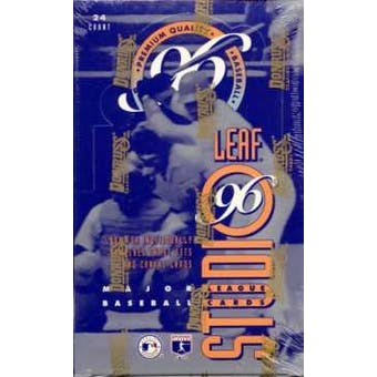 1996 Leaf Studio Baseball Hobby Box