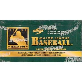 1996 Score Series 2 Baseball Hobby Box