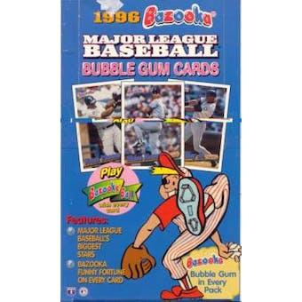 1996 Topps Bazooka Baseball Hobby Box
