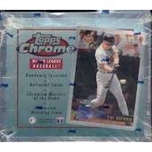 1996 Topps Chrome Baseball Hobby Box (Reed Buy)