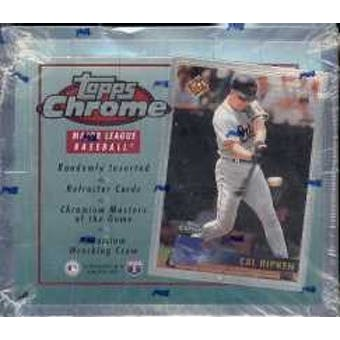 1996 Topps Chrome Baseball Hobby Box