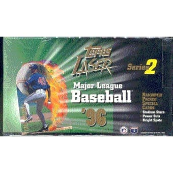 1996 Topps Laser Series 2 Baseball Hobby Box