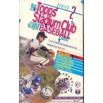 1996 Topps Stadium Club Series 2 Baseball Hobby Box