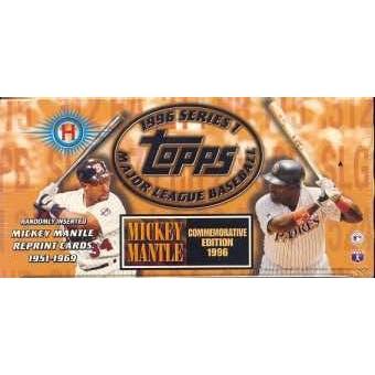 1996 Topps Series 1 Baseball Jumbo Box