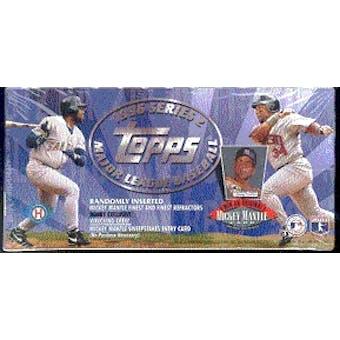 1996 Topps Series 2 Baseball Jumbo Box