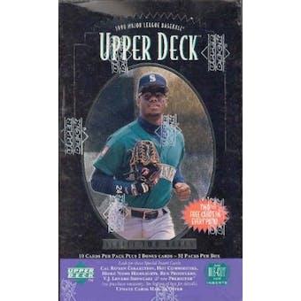 1996 Upper Deck Series 2 Baseball Hobby Box