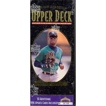 1996 Upper Deck Baseball Factory Set (Box) (Reed Buy)