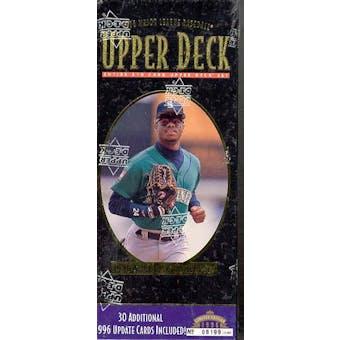 1996 Upper Deck Baseball Factory Set (box)