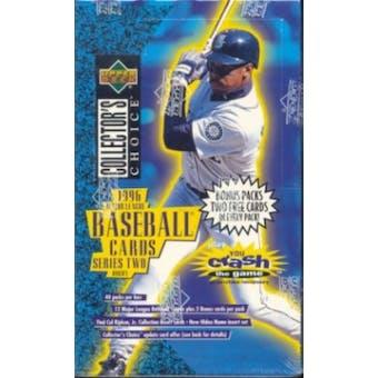 1996 Upper Deck Collector's Choice Series 2 Baseball Hobby Box