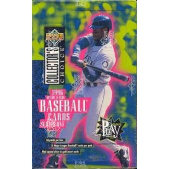 1996 Upper Deck Collector's Choice Series 1 Baseball Hobby Box