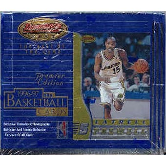 1996/97 Bowman's Best Basketball 20 Pack Box