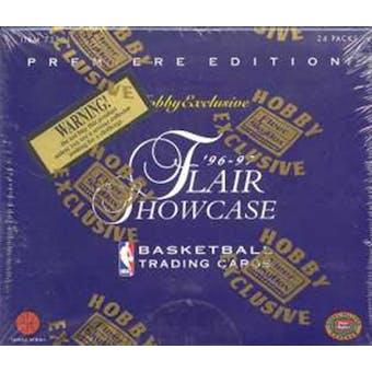 1996/97 Fleer Flair Showcase Basketball Hobby Box