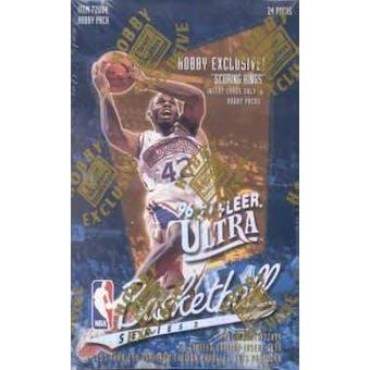 1996/97 Fleer Ultra Series 2 Basketball Hobby Box