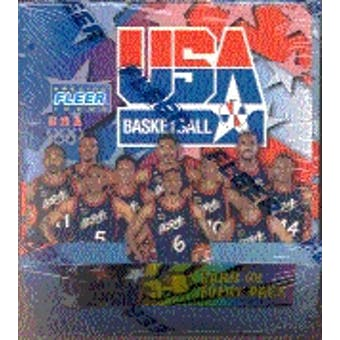 1996/97 Fleer USA Basketball Retail Box