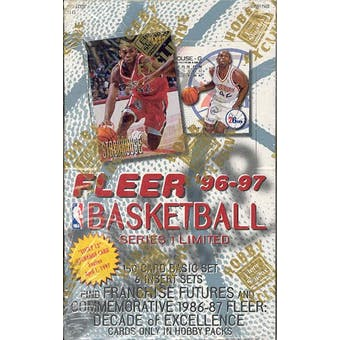 1996/97 Fleer Series 1 Basketball Hobby Box