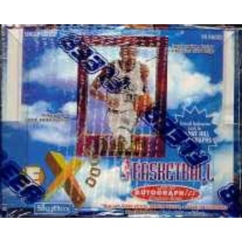 1996/97 Skybox E-X 2000 Basketball Hobby Box