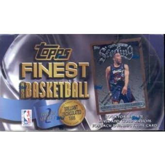 1996/97 Topps Finest Series 2 Basketball Hobby Box