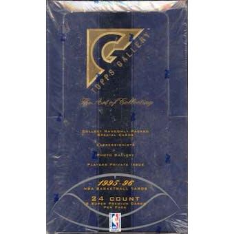 1995/96 Topps Gallery Basketball Hobby Box