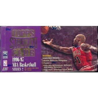 1996/97 Topps Stadium Club Series 2 Basketball Jumbo Box
