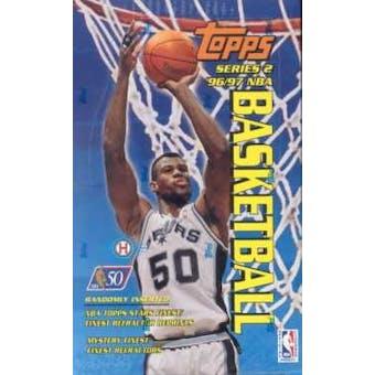 1996/97 Topps Series 2 Basketball Hobby Box