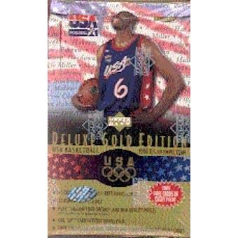 1996/97 Upper Deck USA Gold Edition Basketball Hobby Box