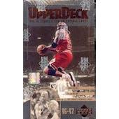 1996/97 Upper Deck Series 2 Basketball Hobby Box