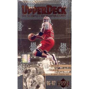 1996/97 Upper Deck Series 2 Basketball Hobby Box