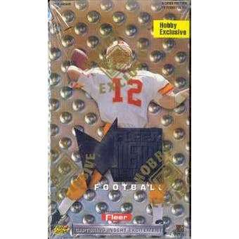 1996 Fleer Metal Football Hobby Box
