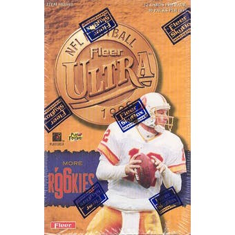 1996 Fleer Ultra Football Hobby Box