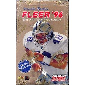 1996 Fleer Football Hobby Box