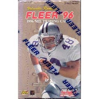 1996 Fleer Football Jumbo Box