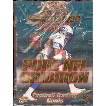 1996 Pacific Gridiron Football Hobby Box