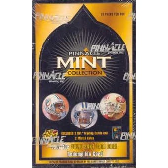 1996 Pinnacle Mint Collection Football Hobby Box