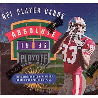 1996 Playoff Absolute Football Hobby Box