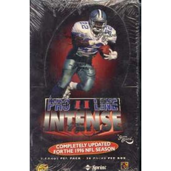 1996 Pro Line Intense Series 2 Football Hobby Box