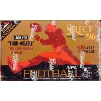 1996 Score Select Football Hobby Box