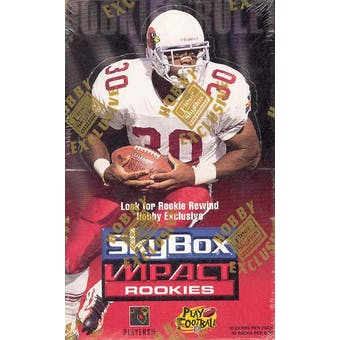 1996 Skybox Impact Rookies Football Hobby Box